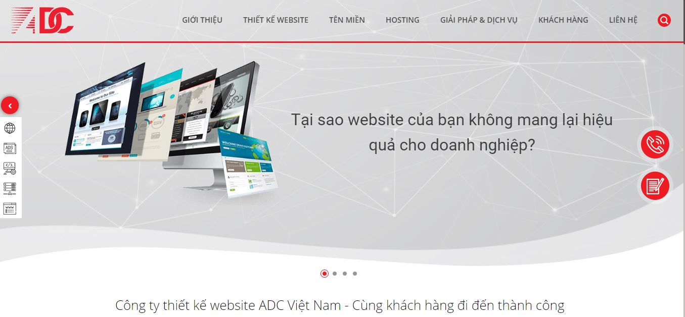Công ty thiết kế website ADC