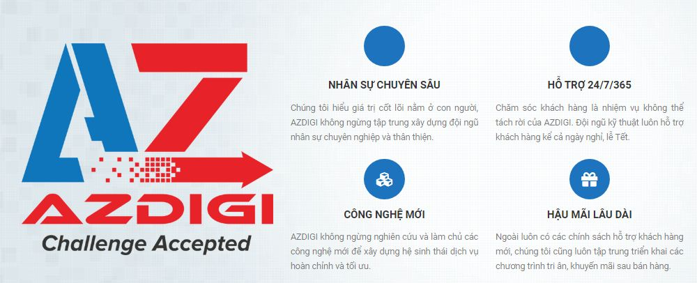 Azdigi hosting wordpress giá rẻ