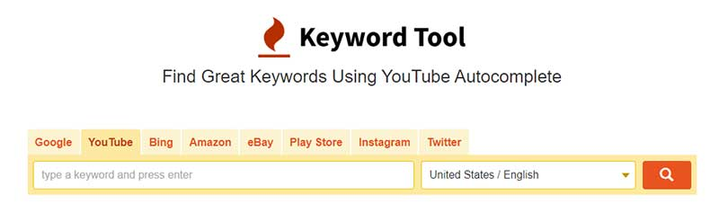Keyword Tool cho seo youtube