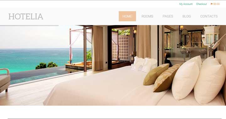 theme wordpress khách sạn