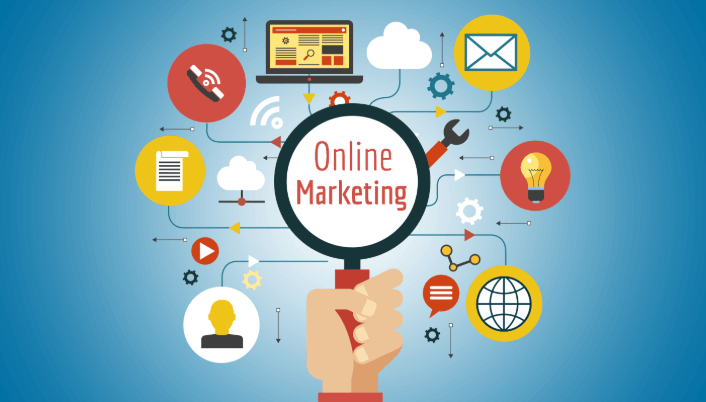 Triển khai các giải pháp marketing online.