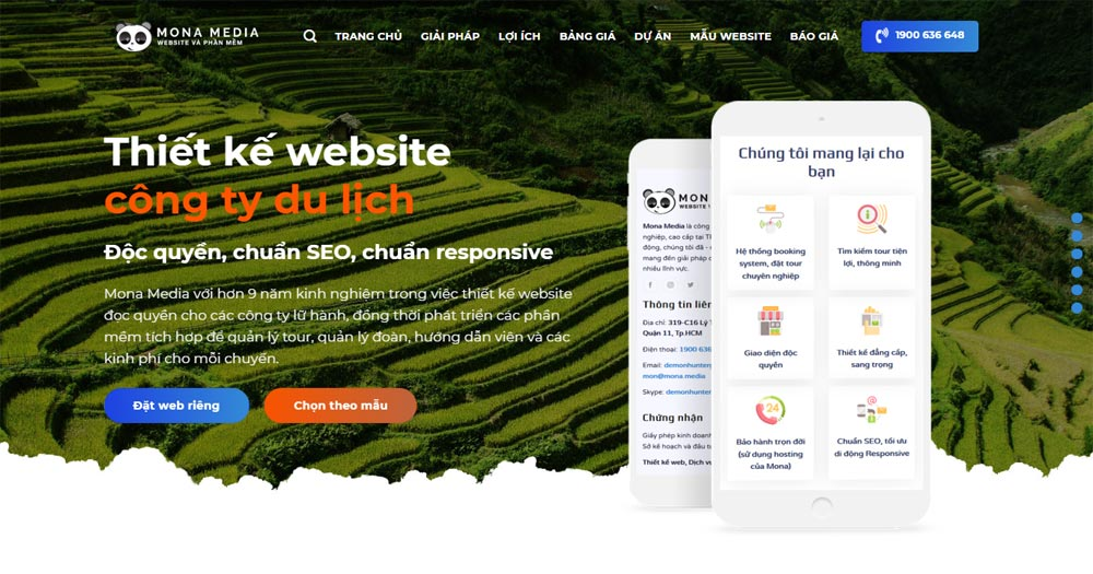 Website là công cụ kết nối quan trọng giữa doanh nghiệp du lịch với khách hàng