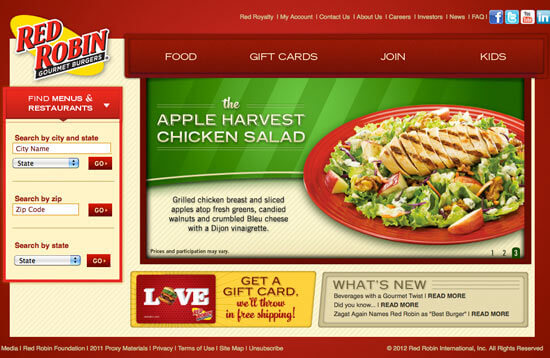 Thiết kế web nhà hàng nên lựa chọn những giao diện mới nhất