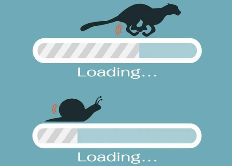 Thiết kế trang web nhà hàng nên để ý tới tốc độ load