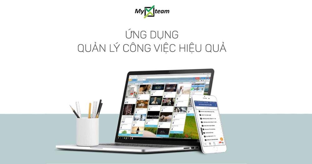 MyXteam- Web app quản lý dự án doanh nghiệp