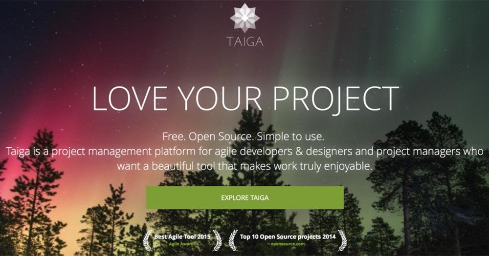 Taiga - Ứng dụng quản lý công việc mã nguồn mở