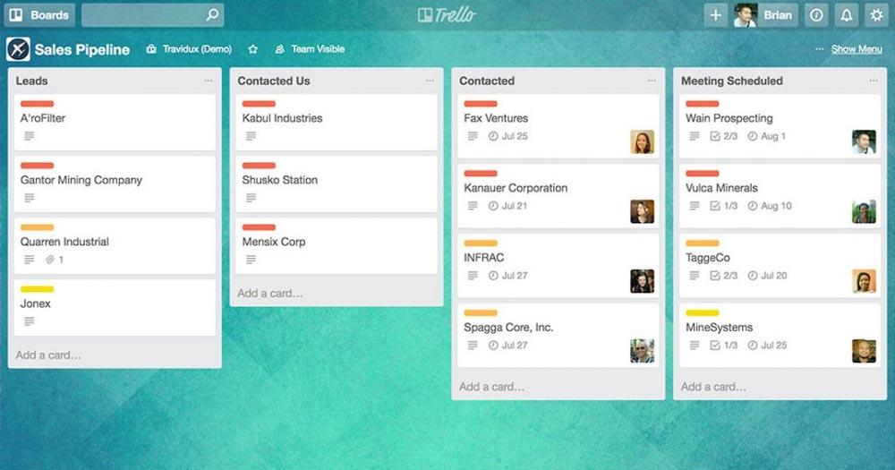 Trello- Phần mềm quản lý phương pháp Kanban